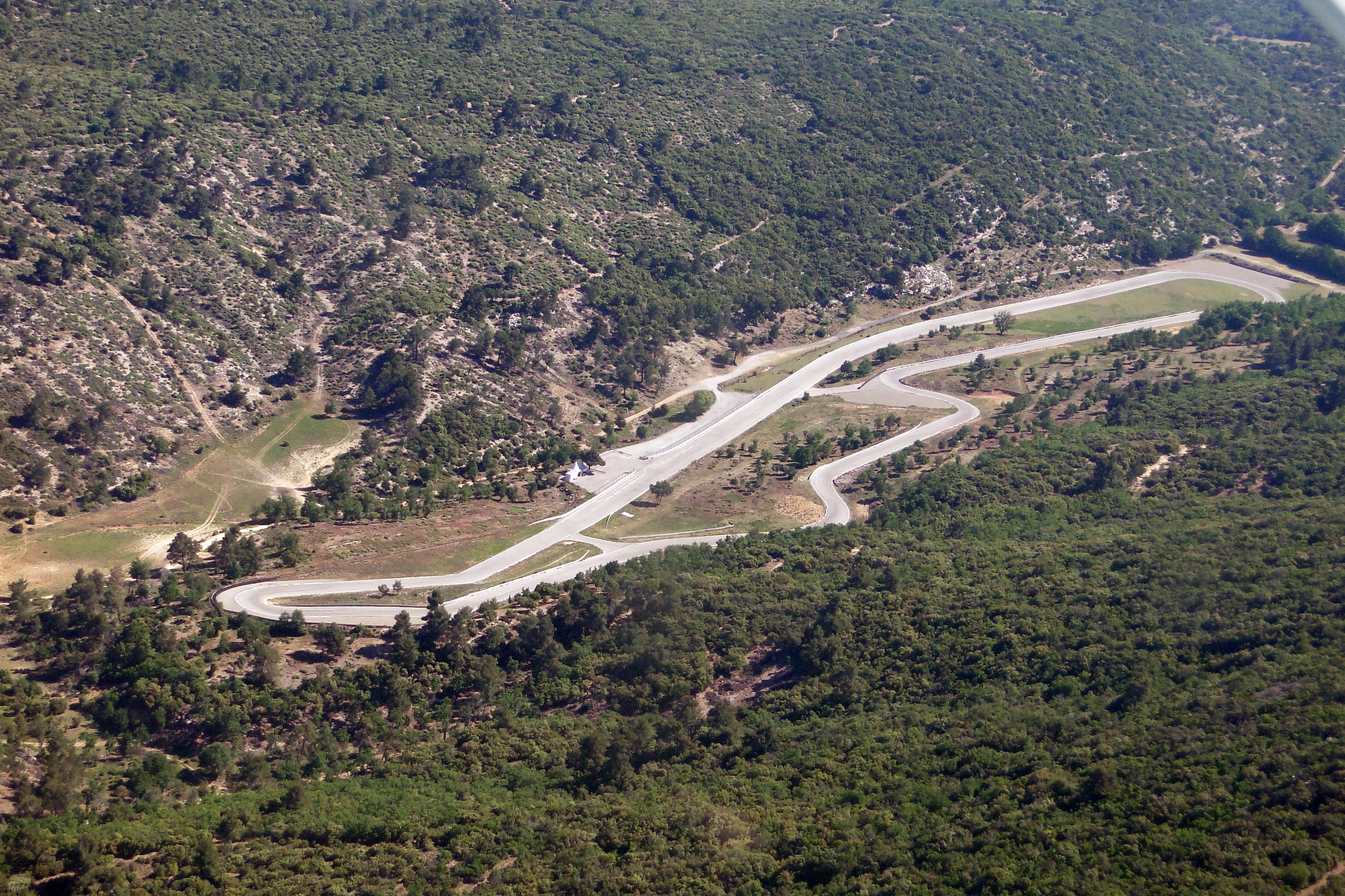 Schéma du circuit de Fontanges